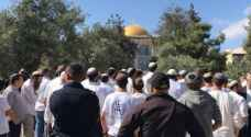Hundreds of Israeli settlers storm Aqsa Mosque