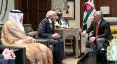 King meets Kuwait Red Crescent Society president