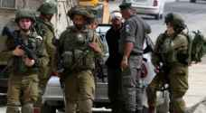 IOF arrest 14 Palestinians in West Bank