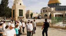 Tens of radical settlers storm Al-Aqsa Mosque this morning