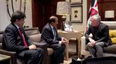 King meets Indian national security adviser