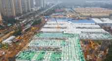 After eight days of construction, China virus hospital to begin receiving patients
