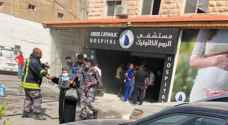 Patients at Greek Catholic Hospital in Irbid evacuated after power transformer combustion