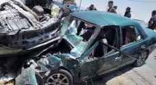 One death, four injuries following two-car collision in Karak