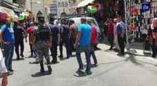 GAM inspects random sidewalk and street vendors in Downtown Amman