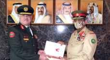 Jordan and Bahrain discuss military ties