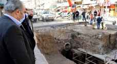 Fears of flooding arise due to delays in Downtown Amman excavation site