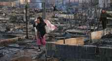 Eight arrested in connection with burning of Syrian refugee camp in Lebanon