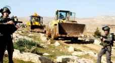 Israeli Occupation threatens to demolish eight homes, facilities in Ein Shibli village