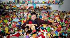 Filipino graphic artist holds record for fast food toy collection