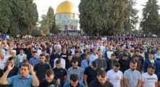 Tens of thousands perform Eid Prayer at Al-Aqsa Mosque