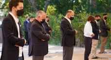 King Abdullah II, Crown Prince perform Eid Prayer in Aqaba