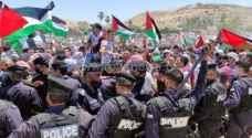 Jordanians prepare to march to borders of Palestine