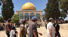 Dozens of settlers storm Al Aqsa compound, escorted by IOF