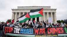 Thousands rally in support of Palestine in Washington