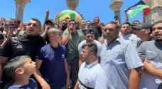 IOF injures Palestinians in Aqsa following calls for anti-racism march after Friday prayers