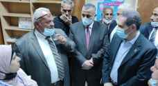 Health Minister visits health facilities in Karak