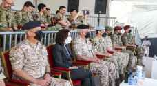 Joint Chiefs of Staff Chairman, British Ambassador attend joint military aerial drill