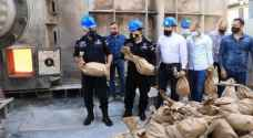Millions of pills, 3,000 kg of hashish destroyed through 47 AND cases