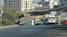 Three injured after truck overturns in Amman