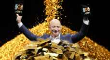 How much has Jeff Bezos earned since stepping down from his position as CEO of Amazon?