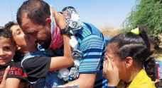 Jordanian prisoner Thaer Shafut returns home