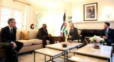 King meets US Secretary of Defense Lloyd Austin