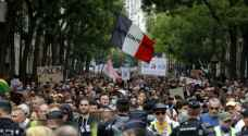 France witnesses massive protests against health certificate