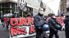 Protesters clash with police in Berlin over closure measures