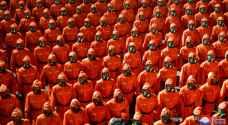 North Korea celebrates founding day with military hardware