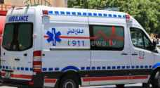 Eight injured in two-vehicle collision in northern Jordan Valley