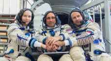 Russian crew blast off to film first movie in space