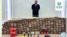 Dubai Police seize 500 kilograms of cocaine, worth about $136 million