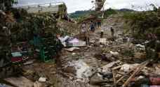 Nine dead as tropical storm sweeps Philippines