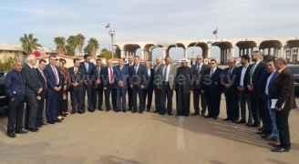 Jordanian parliamentary delegation visits Damascus