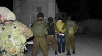 14 Palestinians detained from West Bank