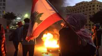 Protests break out as Lebanese pound hits all-time low