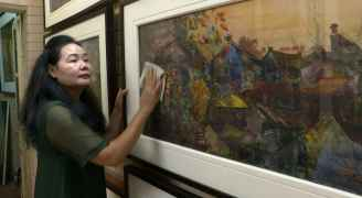 'Just me and the fabric': Vietnam artist finds success with ....