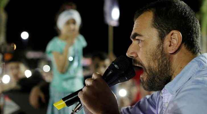 Nasser Zefzafi is a leader of a movement demanding economic development for the Rif region. [Youssef Boudlal/Reuters]