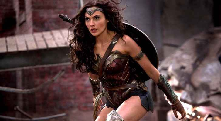 Gal Gadot in her leading role as the superhero Wonder Woman.