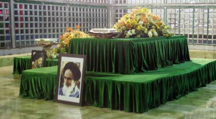 The mausoleum of Ayatollah Khomeini is in southern Tehran. (AFP)