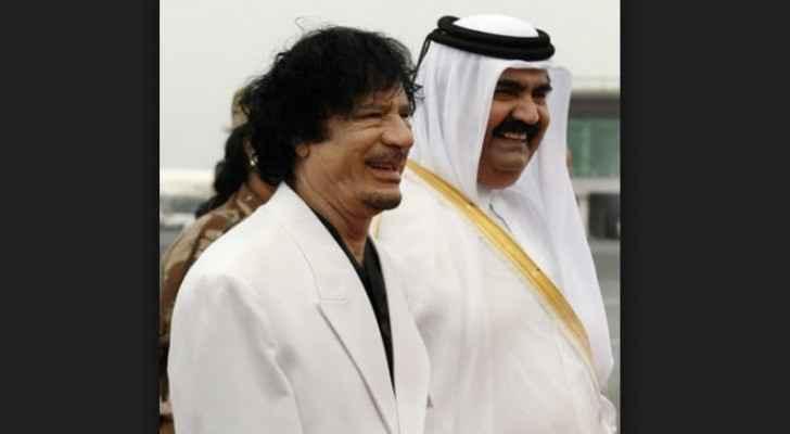 Qatar was allegedly interfering in Libya after toppling the Gaddafi regime.