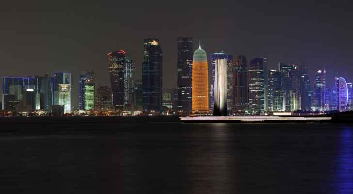 """""""The situation is a bit sensitive"""", says Jordanian journalist living and working in Doha. (Photo by Jimmy Baikovicius)"""