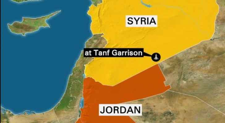 Jordanian border guards reportedly fought against nine cars.