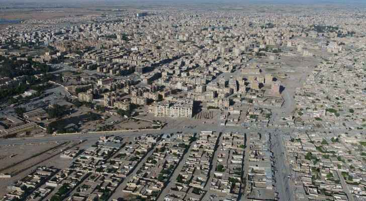 Raqqa city, Syria. (Photo by SDF)
