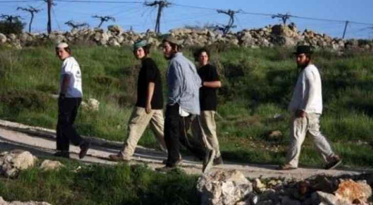 Settlers broke into a historic site in Nablus.