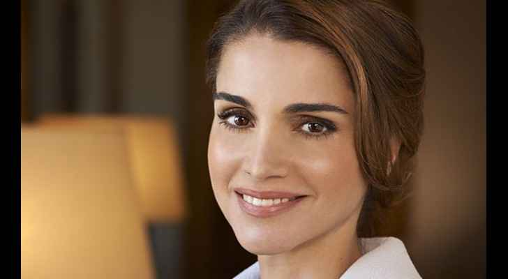 Queen Rania at the QRTA iftar dinner.