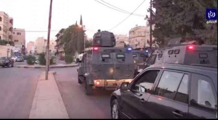 The PSD did wide-spread arrests in Irbid.