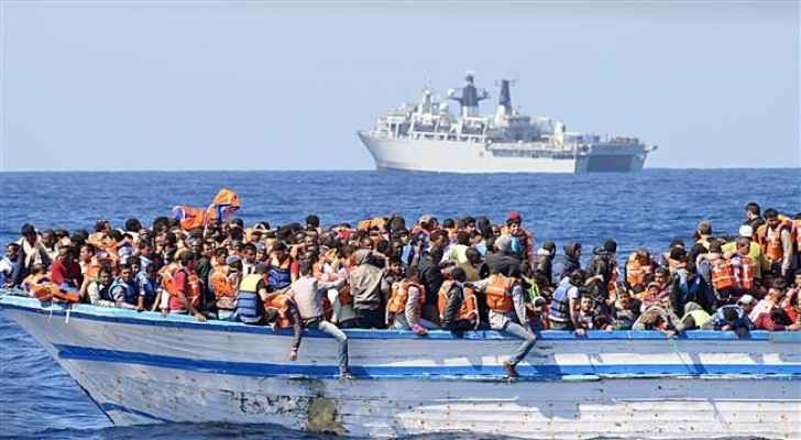 25 children and 98 women, including seven who were pregnant, were among those rescued.