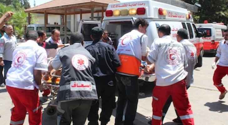 Palestine Red Crescent Society. (Photo courtesy of PRCS)